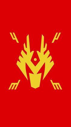 仮面ライダー龍騎 龍騎ロゴ待受の画像 プリ画像
