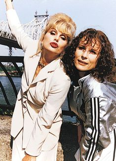 Absolutely Fabulous - Publicity still of Jennifer Saunders & Joanna Lumley. The image measures 615 * 852 pixels and was added on 24 October British Actresses, Actors & Actresses, Ab Fab Movie, Aliens, Edina Monsoon, Patsy And Edina, Patsy Stone, Jennifer Saunders, Dawn French