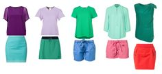 Bright Spring color combinations
