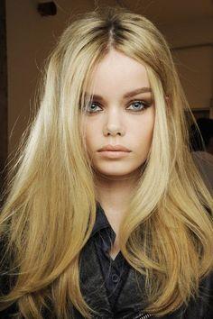 Fashionable Straight Haircuts for Long Hair - Pretty Designs