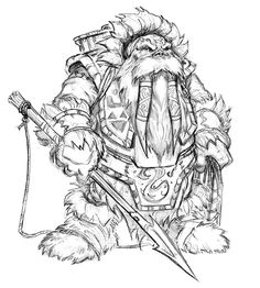 Tuskar Sketch - Pictures & Characters Art - World of Warcraft: Wrath of the Lich King