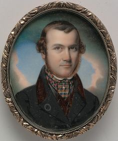 """Self-Portrait"" by John Henry Brown (1846) at the Metropolitan Museum of Art, New York"
