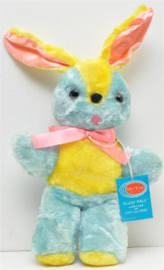 Cintage my toy co bunny easter stuffed animal by CANDYLEMON, $49.00