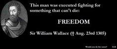 Freedom--William Wallace
