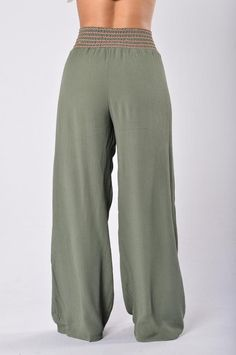 Lazy Day Pants - Olive