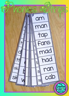 87 Strips with first grade phonics skills and challenge strips included! 87 Strips with first grade phonics skills and challenge strips included! Phonics Reading, Teaching Phonics, Phonics Activities, Kindergarten Literacy, Reading Activities, Teaching Reading, Learning, Short Vowel Activities, Guided Reading Groups