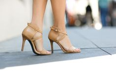 Nude summer shoes ...