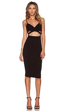Nookie Heidi Bodycon Dress in Black