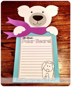 A Cupcake for the Teacher: Polar Pals {Craftivity & Printables} and a SALE!