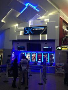 Ster Kinekor Tyger Valley Sign Installation, Flat Screen, Signs, Tv, Blood Plasma, Shop Signs, Television Set, Flatscreen, Dish Display