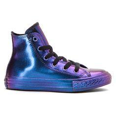 Converse Chuck Taylor Rubber High Top Pre/Grade School | Girls' - Purple/Blue/Black