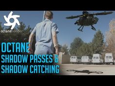 Octane Shadow Passes and Shadow Catching - YouTube