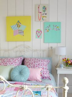 pastel slaapkamer