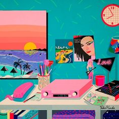 Yoko Honda #Illustration via @artnau #Eighties