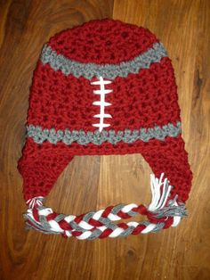 This should be fun! WSU Collegiate Earflap Hat by Playground Bound Etsy, $25.00