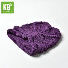 904705abd69d1c BeeLu Stripe - Purple Knitted Hats, Crochet Hats, Knit Beanie Hat, Smart  Casual