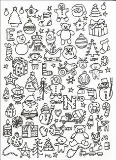 cherche et trouve (suite) - Christmas Pins 2019 Christmas Doodles, Christmas Drawing, Christmas Coloring Pages, Christmas Bags, Christmas Colors, Christmas Crafts, Xmas, Colouring Pages, Adult Coloring Pages