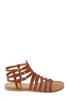 Studded Gladiator Sandals | FOREVER 21 - 2000068432