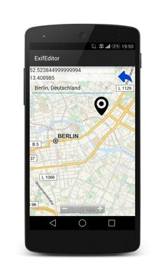 Pin useful GPS information to your pictures and keep them up to date for social networks like Facebook, Instagram or Twitter! https://play.google.com/store/apps/details?id=de.pmd.exifeditor
