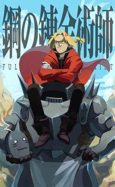 Being the Tall One | Ed & Al | Fullmetal Alchemist Brotherhood | #FMAB | #anime