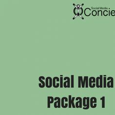 #SocialMedia #marketing Package 1  #fitpro #personaltrainer