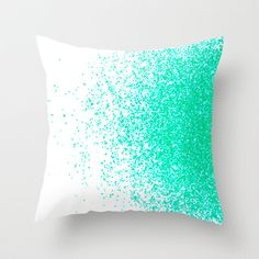 "THROW PILLOW	 / INDOOR COVER (16"" X 16"")   fresh mint flavor by Marianna Tankelevich"