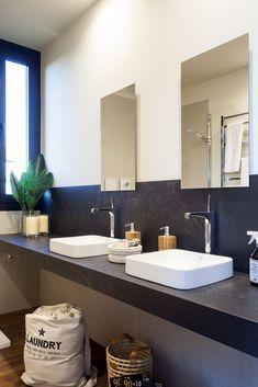 Vanity, Bathroom, Interiors, Style, Painted Makeup Vanity, Washroom, Lowboy, Dressing Tables, Bath Room