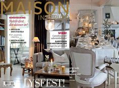 Maison interior mag. Tone's beautiful christmas-home in soft colors!