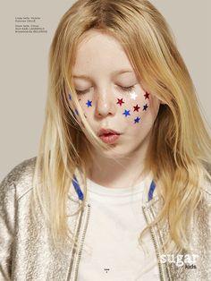 Chloe from Sugar Kids for Luna Magazin by Elena Bofill.