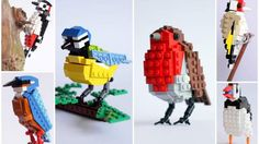 We've seen some LEGO Angry Birds in the past, and that was certainly geeky in an awesome way. Another LEGO fan has constructed some birds, and this time Legos, Lego Activities, Lego Club, Lego Projects, Lego Brick, Legoland, Lego Creations, Lego Duplo, Lego Sets