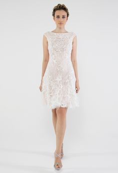 Francesca Miranda  Spring 2014 Wedding Dresses -- now this is my perfect casual wedding dress!!! Dreams come true