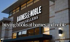 I love books and Barnes and Noble! Books To Buy, I Love Books, Make Me Happy, Make You Smile, Dont Forget To Smile, Don't Forget, Justgirlythings, Reasons To Smile, Story Of My Life