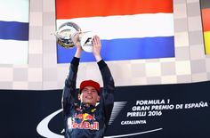 The youngest driver ever and the first Dutchman to win in #F1! History! Mega congrats to Max & @redbullracing