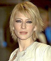 Cate Blanchett's charming hairstyle