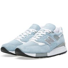 New Balance M998LL - Made in the USA (Sky Blue & White)