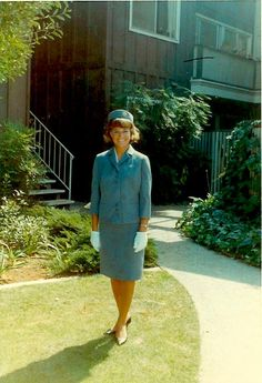 Pan Am Stewardess Martie Binkley