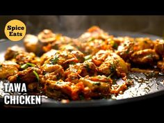 RESTAURANT STYLE TAWA CHICKEN | PAN FRIED CHICKEN MASALA | TAWA FRIED CHICKEN - YouTube Pan Fried Chicken, Fried Chicken Recipes, Chicken Masala, Chicken Spices, Stew Chicken Recipe, Chicken Gravy, Indian Food Recipes, Ethnic Recipes, Masala Recipe