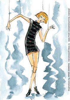 https://flic.kr/p/V9GXCc | img358 | Maison Margiela Fall 2015 ready-to-wear collection.  #fashionillustration #FALL2017 #readytowear #runway #MaisonMargiela #JohnGalliano #illustration #fashion #model #portrait #drawing #female #watercolor #ink #fashionshow #hairstyle #coat #wear #clothes #fashionillustrator #иллюстрация #одежда #платье #портрет #irinakamantseva #мода #artwork #instaart #artinsta #fashioninsta
