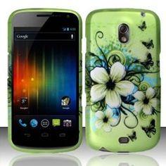 Samsung Galaxy Nexus Prime i515 Accessory - Green Hibiscus Hawaii Flower Design Protective Hard Case Cover for Sprint/Verizon/Telus (Wireless Phone Accessory)  http://www.amazon.com/dp/B006YM07D8/?tag=goandtalk-20  B006YM07D8