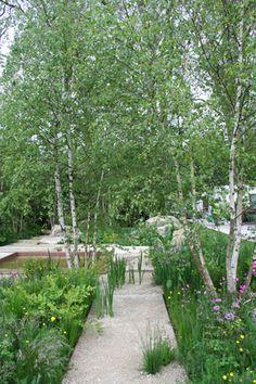 RHS Chelsea Flower Show 2012 The Daily Telegraph Garden designed by garden designer Sarah Price