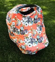 This floral Multi-use Carseat/Breast feeding cover   is TO DIE FOR!!!! #floral #nursingcover #nursingponcho #carseatcover #carseatcanopy #newmom #breastfeeding