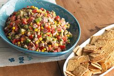 Cowboys (and cowgirls) are sure to go for this super-flavorful salsa with fresh…