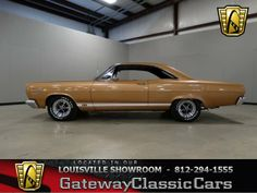 1967 Mercury Cyclone GT located in the Louisville showroom for more information and a HD video visit our webpage. http://gatewayclassiccars.com/displaycar?stock=703&location=LOU
