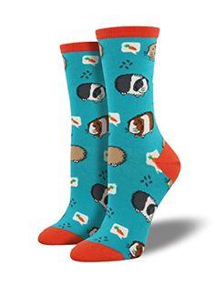 "Socksmith Womens' Novelty Crew Socks ""Guinea Pigs"" - 1 pa..."