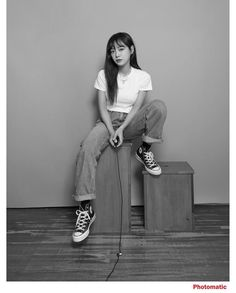 Cool Kidz, Kim Sejeong, Cute Fashion, Beautiful Actresses, Korean Singer, Street Wear, Normcore, Celebs, Female