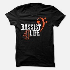 Bassist for life, Order HERE ==> https://www.sunfrog.com/Music/Bassist-for-life-5280604-Guys.html?47759, Please tag & share with your friends who would love it , #christmasgifts #birthdaygifts #renegadelife