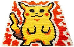 Custom Rug on RugThis Felt Ball Rug, Pikachu, Pokemon, Custom Rugs, Cool Rugs, Tool Design, Game Room, Create Your Own, Kids Room