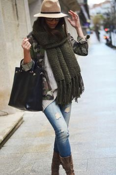 That knit scarf in any color!