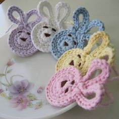 handmade Bundle of Baby Bunnies by sosorosey on Etsy, 13.00 - how cute these are!