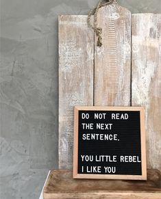 "44 mentions J'aime, 3 commentaires - Live & Love Letterboards (@liveloveletterboards) sur Instagram : ""You little rascal ;) - Purchase your own Felt Board T O D A Y! We're offering an amazing, DEEPLY…"""